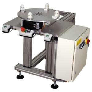 Tampoprint, tamponový tisk - otočný stůl pro tamponový stroj
