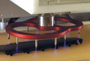 Tantec Corona RotoTEC - Předúprava výrobků pohybujících se na dopravníku