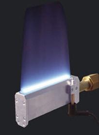 Hill - předúprava povrchu plamenem (ožeh plamenem)
