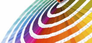 Sericom, vzorník barev, tamponové/sítotiskové barvy