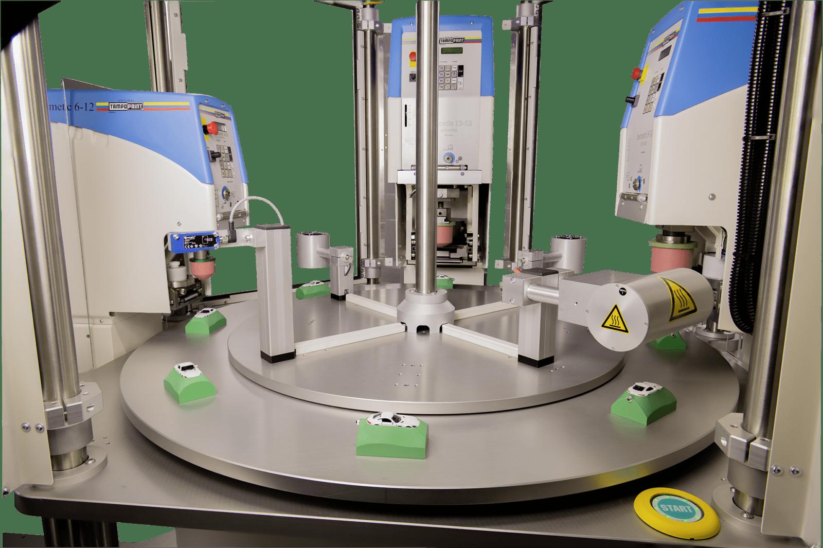 Poloautomatický tamponový stroj-Automat Module ONE