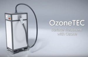 Tantec OzoneTEC- předúprava povrchu ozonem
