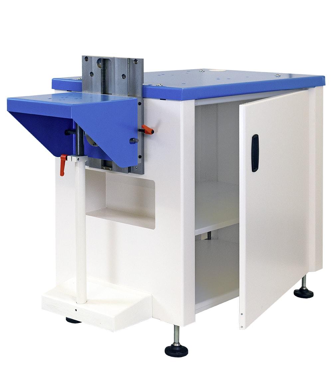 Stabilní podstavce pro tamponové tiskové stroje